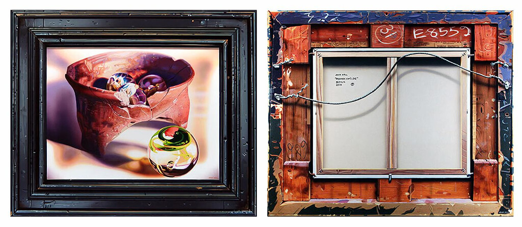 John_Hall_Framed-Cats-Eye-Diptych